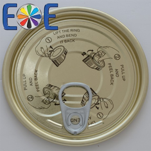 83mm tuna fish can lid|307 tomato paste lid|Tinplate easy open end|Tin can lid|Meat easy open lid