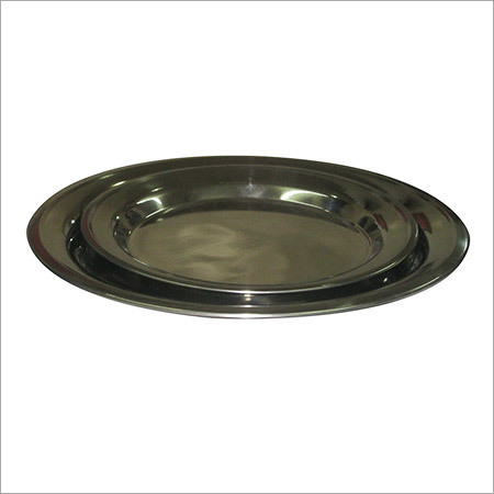 Stainless Steel Dinner Plates