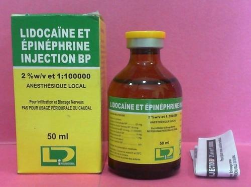 lidocaine Et Epinephrine Injection
