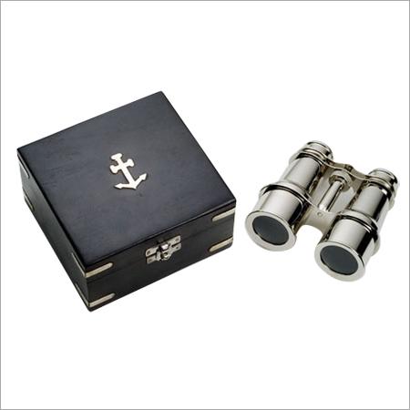 Nautical Chrome Binocular
