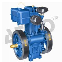 Single Cylinder Four Stroke Water Cooled Slow Speed Diesel Engine