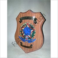 Wooden Shield Plaques