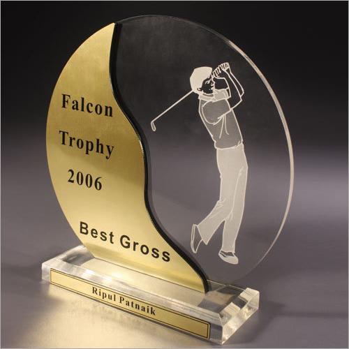 Acrylic Shield Award Trophy