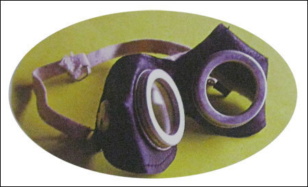 Leather cups goggles