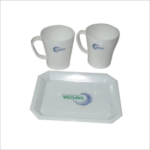 TRAY WITH 2GLASS SET
