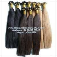 Hand Tied Human Hair Weft