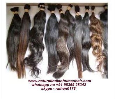 Single Drawn Natural Human Hair