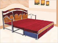 Exotic Stainless Steel Bed