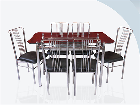 Designer Stainless Steel Dining Table