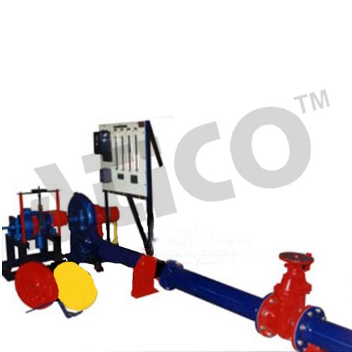 Variable speed air blower test rig (dynamometer type)
