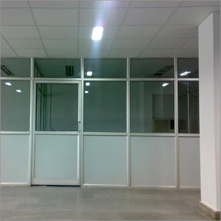 Aluminium Partition Work