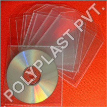 PP Plastic CD Cover