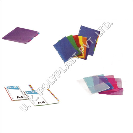 PP Index Divider Folder