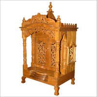 Teakwood Carved Temple