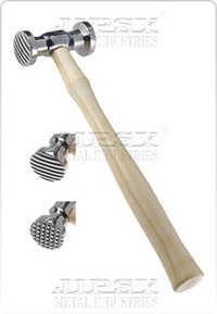 Texturing Hammer, Checkered/ Wide Stripe