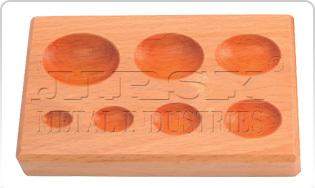 Wood Dapping Block7 KVTOvel Shape