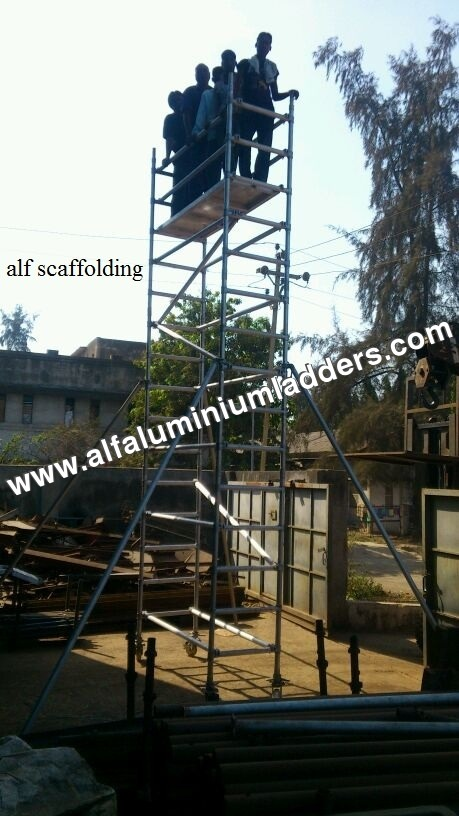 Corrosion Resistant Scaffolding