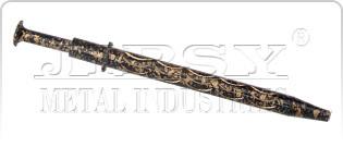 3/4/5 Prong Diamond Holder D. Cut Black Gold Big