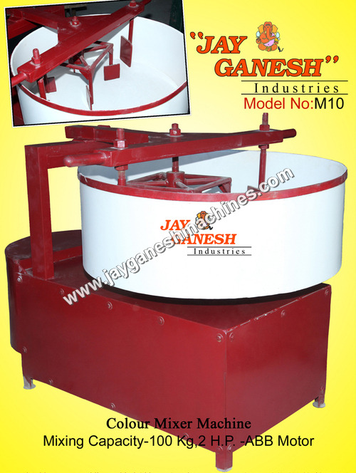 Paver Block Color Mixer