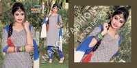 Printed Unstitched Salwar Kameez