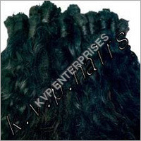 Natural Black Machine Weft Hairs