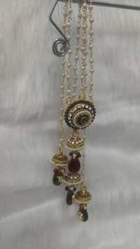 Indian Kundan Jewelry Set