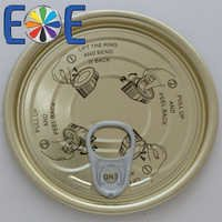 Plastic container lid