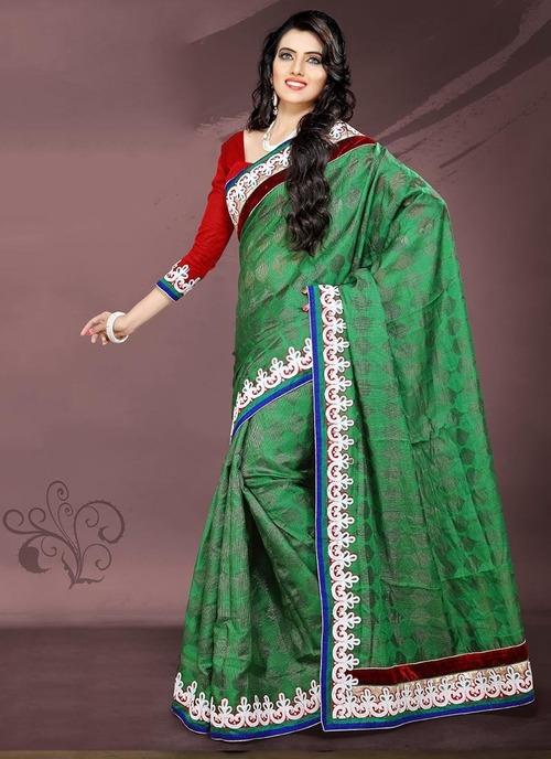 Jacquard sarees