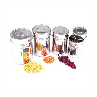 SS 4pcs Canisters Set
