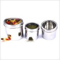 Canisters With Transperent Covers