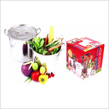 Stock Pots 4 Pcs Sets
