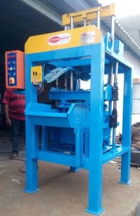 Stationary Type Concrete Block Machine