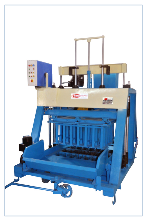 Heavy Duty Cement Block Making Machine