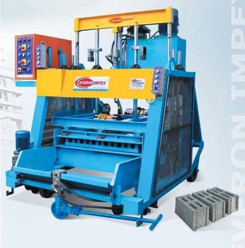 Automatic Solid Block Making Machine