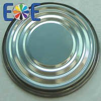 tinplate bottom can lid