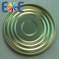 tinplate bottom can easy open end