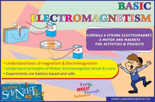 BASIC ELECTROMAGNETISM KIT (40 ACTIVITY)