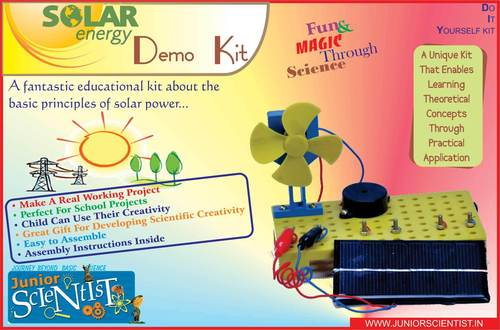 SOLAR ENERGY DEMO KIT