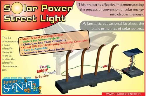 STREET LIGHT FROM SOLAR POWER