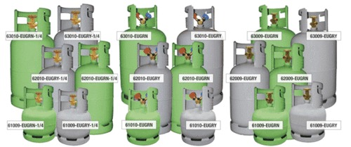DOT Approved Recovery Cylinders