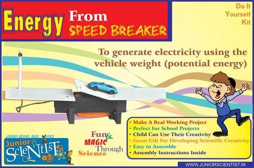 ENERGY FROM SPEED BREAKER