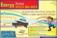 ENERGY FROM SPEED BREAKER