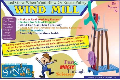 Wind mill DIY/DEMO kit