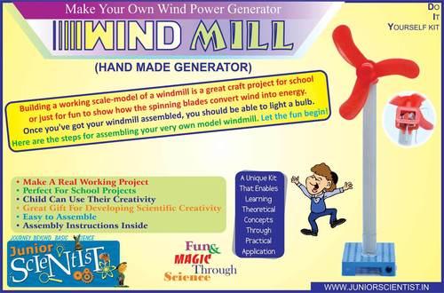 WINDMILL (HAND MADE GENERATOR)
