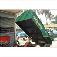 Covered Hydraulic Tipping Trailer