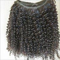 Kinky Curly Human Hair Weave
