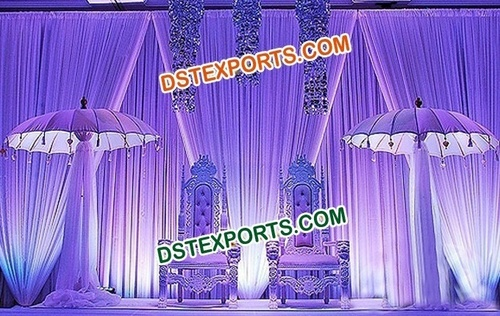 Pakistani Wedding Stage Set