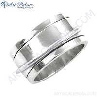 Silver Ring, 925 Sterling Silver Jewelry, High Quality Plain Silver Ring