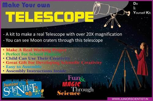 TELESCOPE MAKING KIT