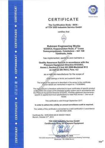 Facilities & Certifications